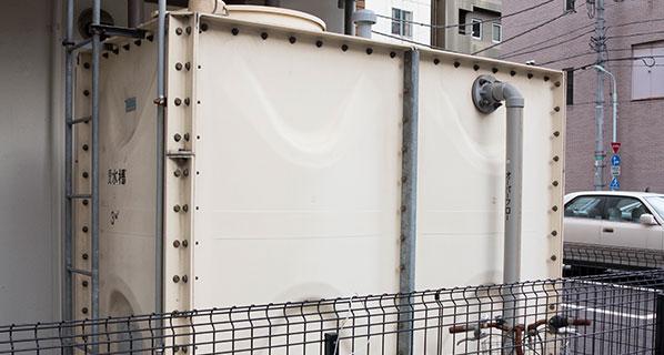 貯水槽クリーニングサービス